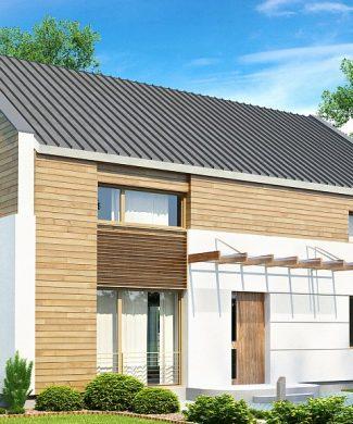 Фото проекта дома Zx11 v2 вид с улицы
