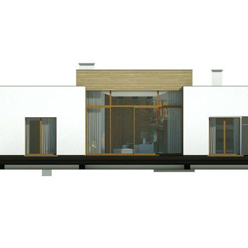 Фасад дома Zx111 3