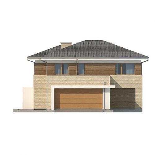 Фасад дома Zx112 1