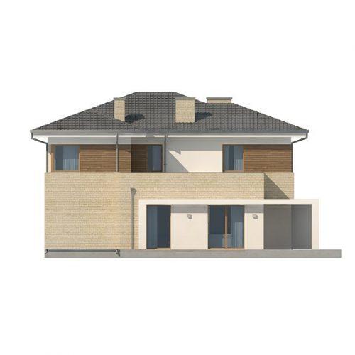 Фасад дома Zx112 3