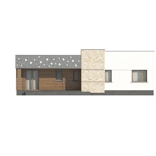 Фасад дома Zx115 1