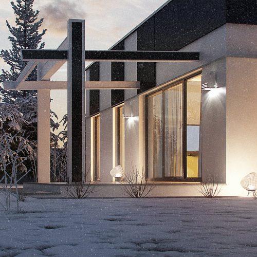 План второго этажа проекта Zx116