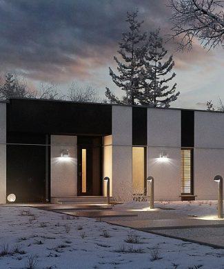 Фото проекта дома Zx116 вид с улицы