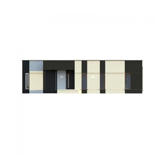 Фасад дома Zx116 1