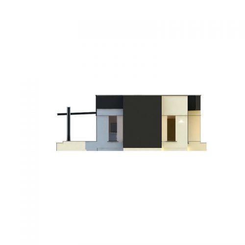 Фасад дома Zx116 2