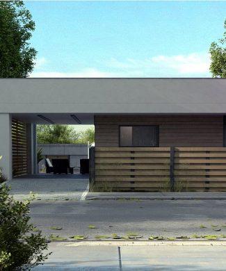 Фото проекта дома Zx117 вид с улицы