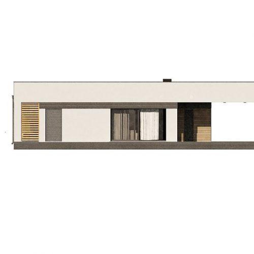 Фасад дома Zx117 3