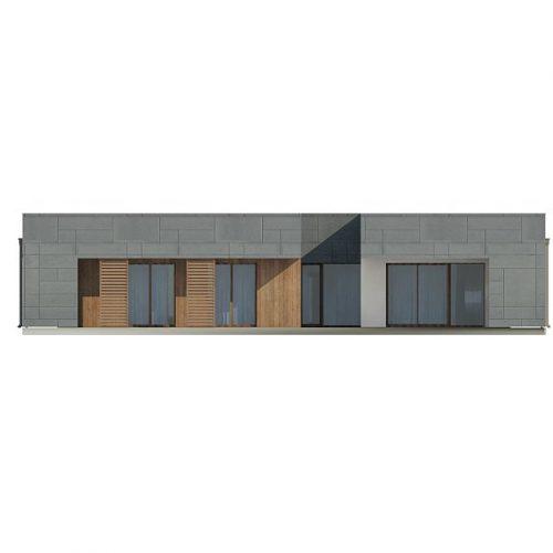 Фасад дома Zx118 3