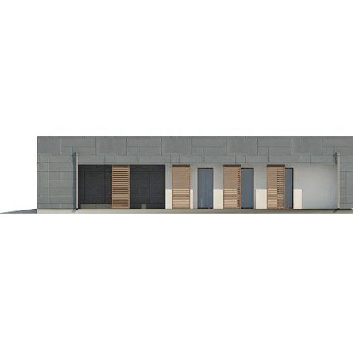 Фасад дома Zx118 4