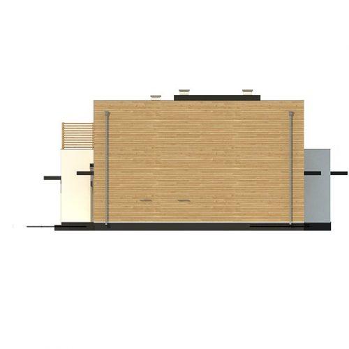 Фасад дома Zx120 1