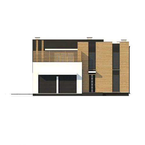 Фасад дома Zx120 2