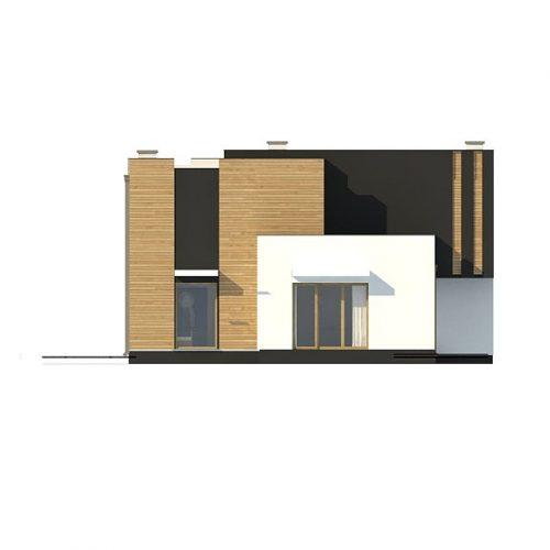 Фасад дома Zx120 4