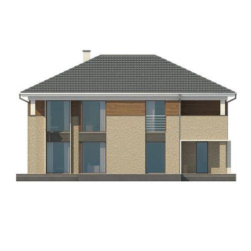 Фасад дома Zx122 3