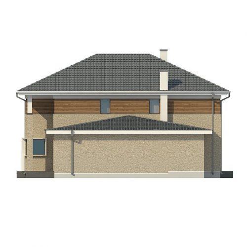 Фасад дома Zx122 4