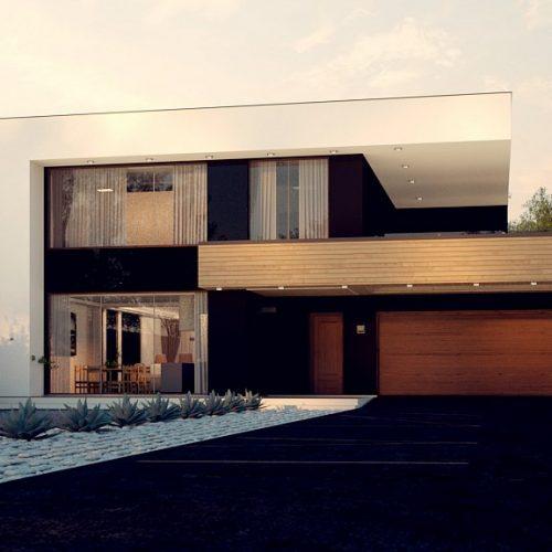 Фото проекта дома Zx123 GP2 вид с улицы