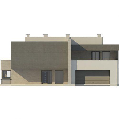 Фасад дома Zx127 1