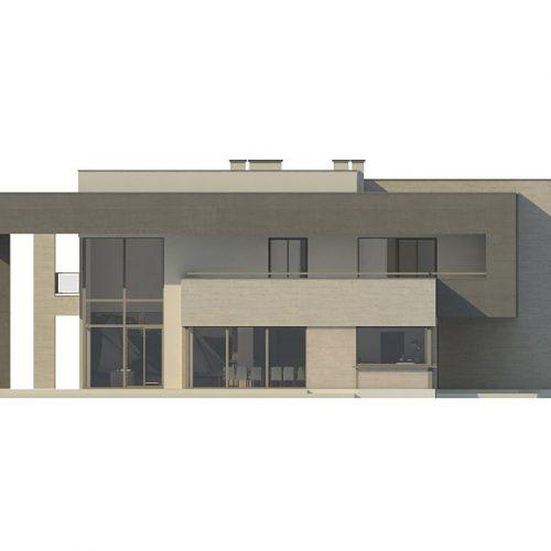 Фасад дома Zx127 2