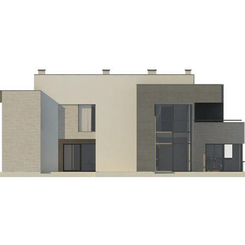 Фасад дома Zx127 3