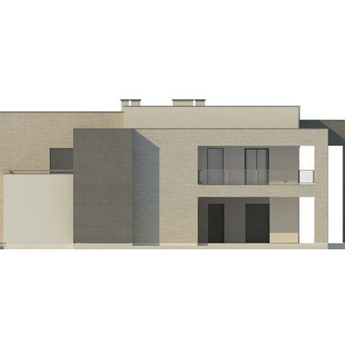 Фасад дома Zx127 4