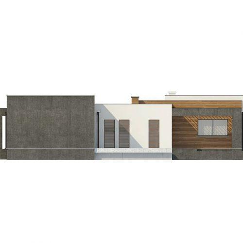 Фасад дома Zx128 1