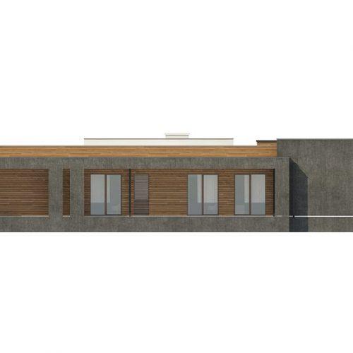 Фасад дома Zx128 2