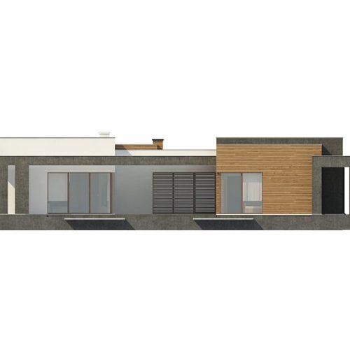 Фасад дома Zx128 3