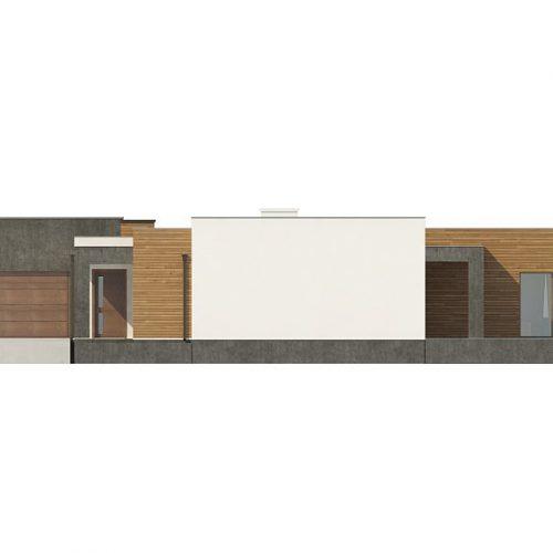 Фасад дома Zx128 4