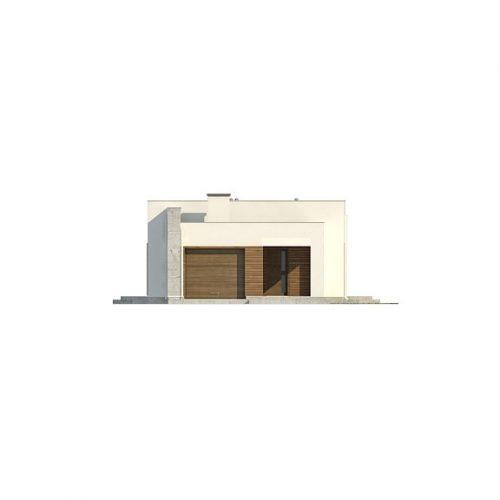 Фасад дома Zx129 1