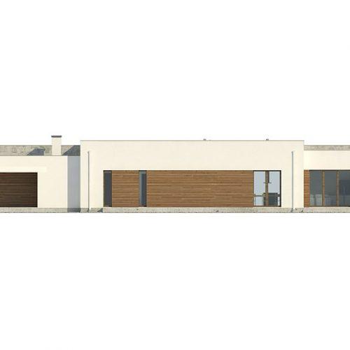 Фасад дома Zx129 4