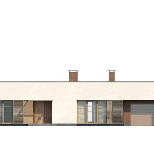 Фасад дома Zx13 3