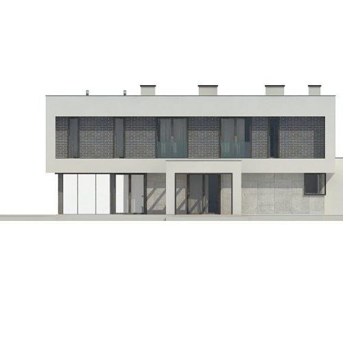 Фасад дома Zx130 2