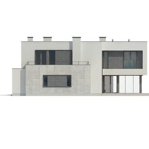 Фасад дома Zx130 4