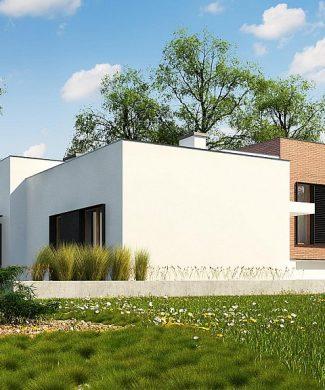 Фото проекта дома Zx132 вид с улицы