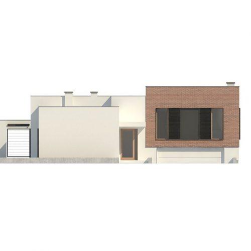 Фасад дома Zx132 1