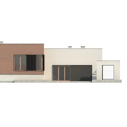 Фасад дома Zx132 3