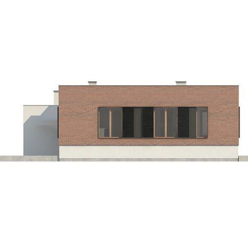 Фасад дома Zx132 4