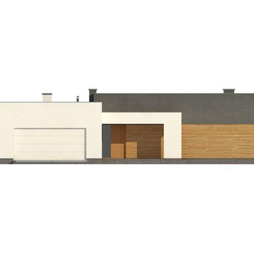Фасад дома Zx133 1
