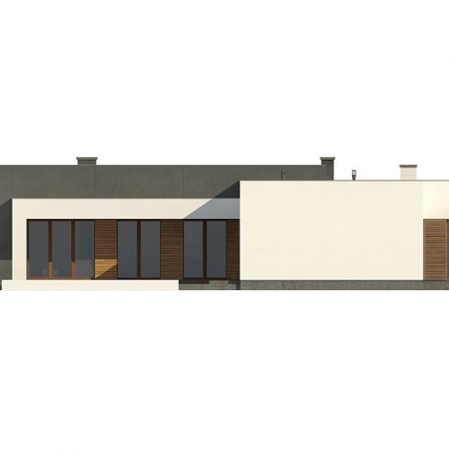 Фасад дома Zx133 3