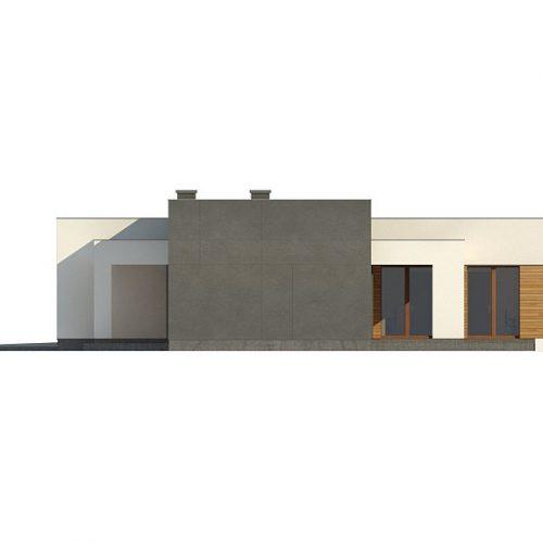 Фасад дома Zx133 4