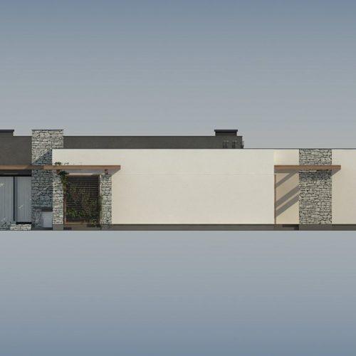 Фасад дома Zx137 2