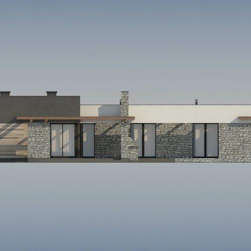 Фасад дома Zx137 3