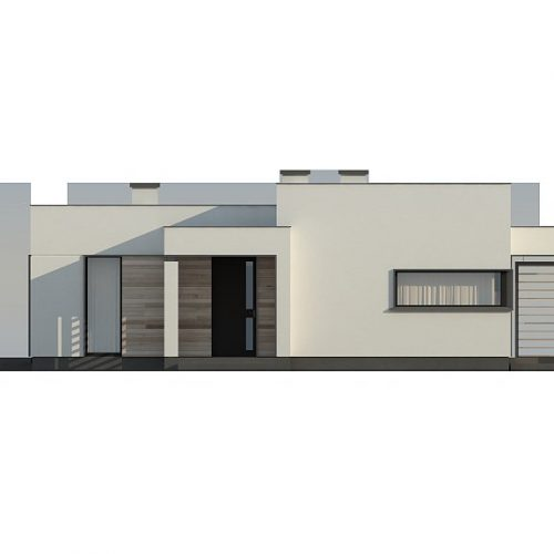 Фасад дома Zx138 1