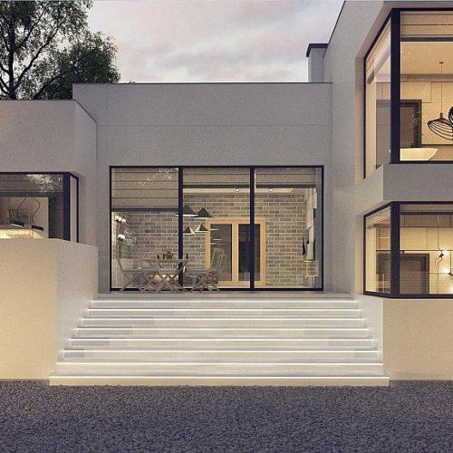 Фото проекта дома Zx140 вид 2