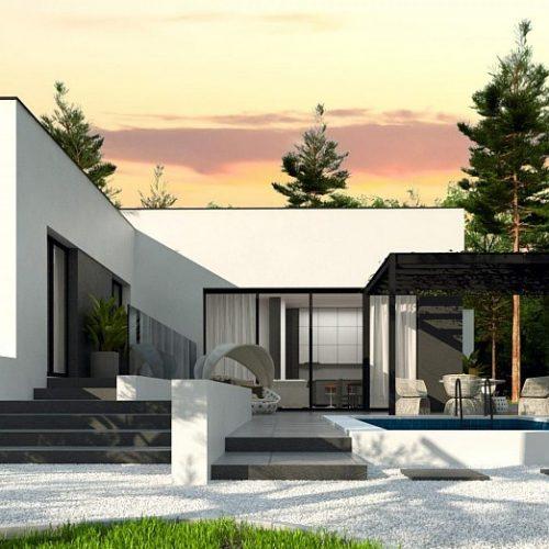 Фото проекта дома Zx141 вид 2