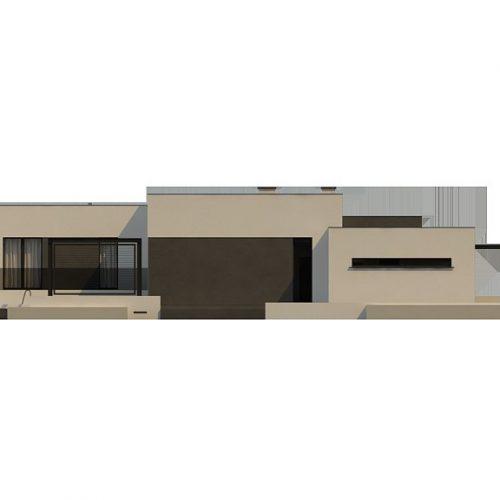Фасад дома Zx141 3