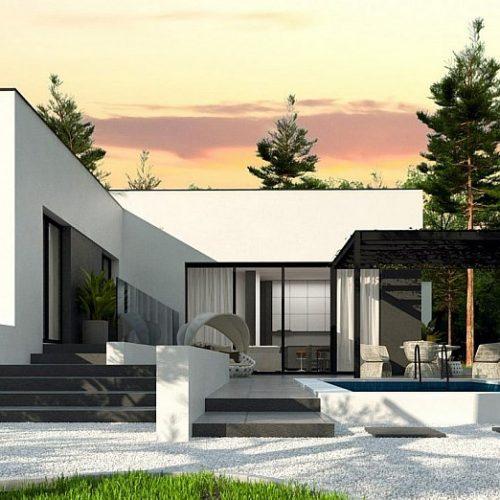 Фото проекта дома Zx141 S вид 2