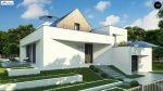 Фото проекта дома Zx145 вид с улицы