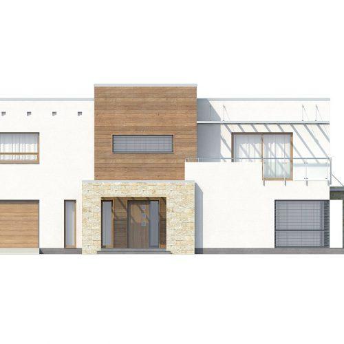 Фасад дома Zx15 1
