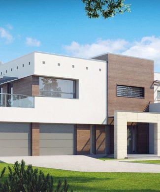 Фото проекта дома Zx15 GL2 вид с улицы