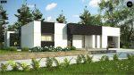 Фото проекта дома Zx150 вид с улицы